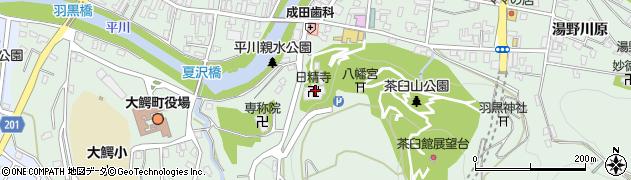 日精寺周辺の地図