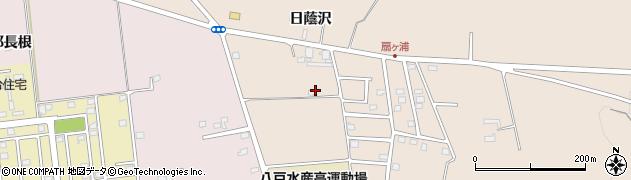 青森県八戸市鮫町(金屎)周辺の地図