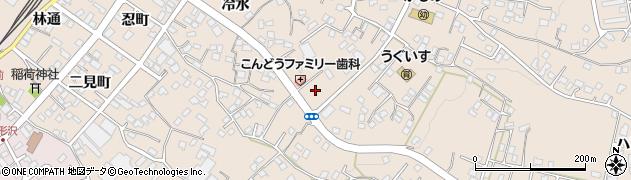 青森県八戸市鮫町(小長根)周辺の地図