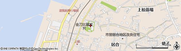 浮木寺周辺の地図