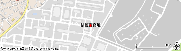 青森県八戸市市川町(桔梗野官地)周辺の地図