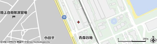 青森県八戸市河原木(青森谷地)周辺の地図