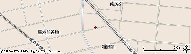 青森県八戸市市川町(和野前)周辺の地図