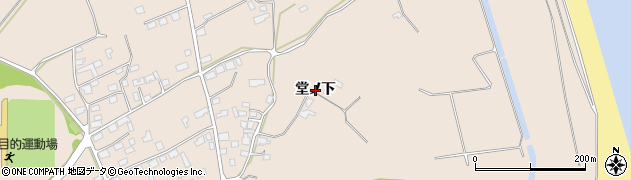 青森県八戸市市川町(堂ノ下)周辺の地図
