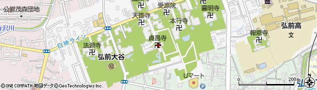 貞昌寺周辺の地図