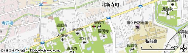 南栄院周辺の地図