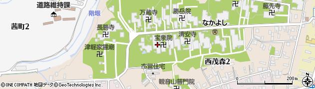 陽光院周辺の地図