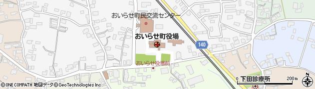 青森県上北郡おいらせ町周辺の地図