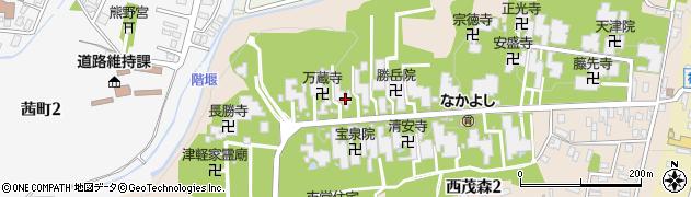 福寿院周辺の地図