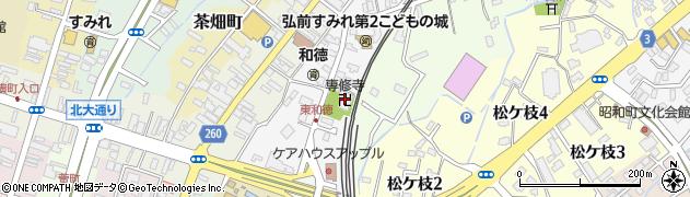 専修寺周辺の地図