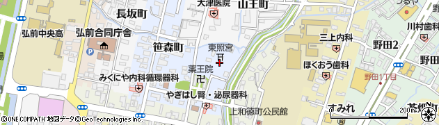 東照宮周辺の地図