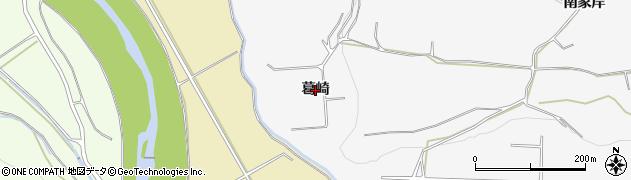 青森県黒石市花巻(葛崎)周辺の地図