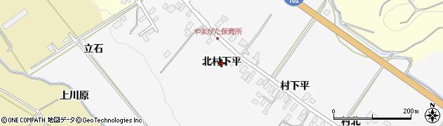 青森県黒石市花巻(北村下平)周辺の地図