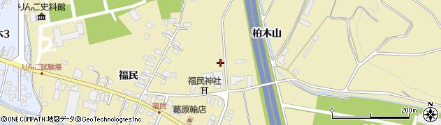 青森県黒石市牡丹平周辺の地図