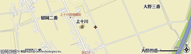 青森県黒石市上十川(大野一番)周辺の地図