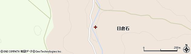 青森県青森市浪岡大字細野(目倉石)周辺の地図