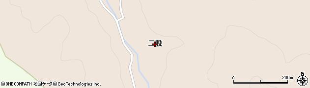 青森県青森市浪岡大字細野(二股)周辺の地図
