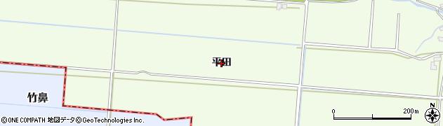 青森県青森市浪岡大字本郷(平田)周辺の地図