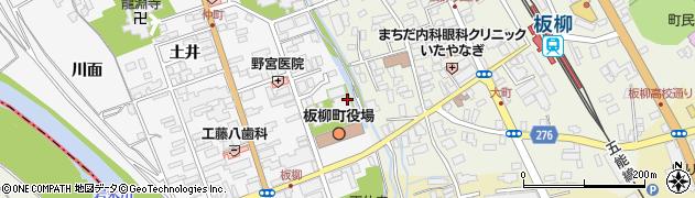 長延寺周辺の地図
