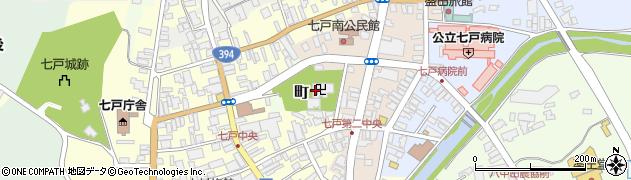 青岩寺周辺の地図