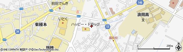 青森県青森市浪岡大字浪岡(若松)周辺の地図