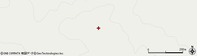 青森県青森市浪岡大字王余魚沢(都谷森)周辺の地図