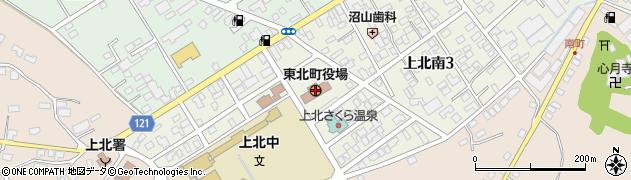 青森県東北町(上北郡)周辺の地図