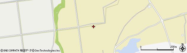 青森県青森市浪岡大字杉沢(山下)周辺の地図
