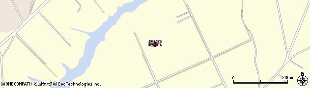 青森県青森市浪岡大字吉野田(鎧沢)周辺の地図