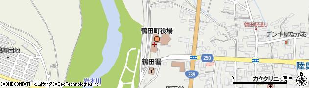青森県鶴田町(北津軽郡)周辺の地図