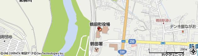 青森県北津軽郡鶴田町周辺の地図