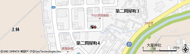 青森県青森市第二問屋町周辺の地図