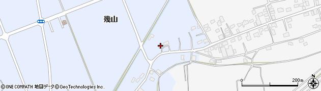青森県つがる市柏上古川幾山周辺の地図