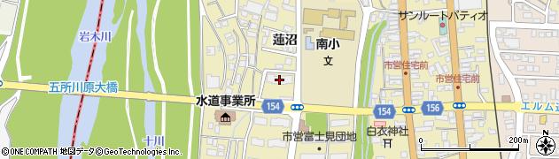 富士見団地市営住宅周辺の地図