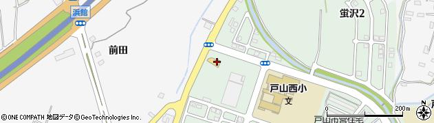 ジークフリート 戸山店周辺の地図