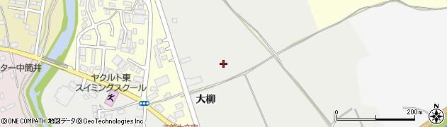青森県青森市古館(大柳)周辺の地図