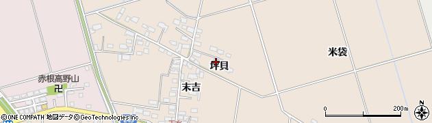 青森県つがる市柏玉水坪貝周辺の地図