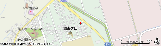 青森県つがる市木造浮巣40周辺の地図