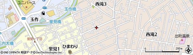 青森県青森市西滝(菅野屋)周辺の地図