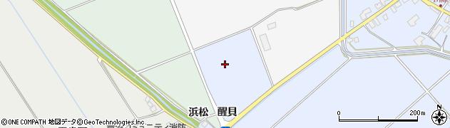 青森県つがる市木造川除醒貝周辺の地図