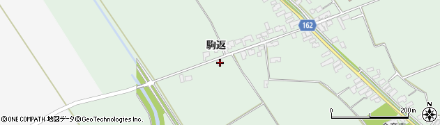 青森県つがる市木造蓮川平塚周辺の地図