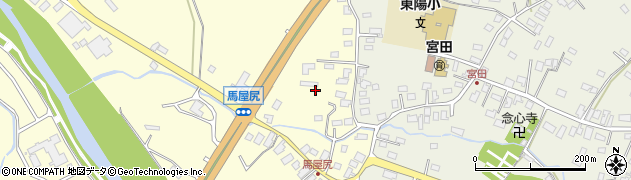 青森県青森市馬屋尻(小金沢)周辺の地図