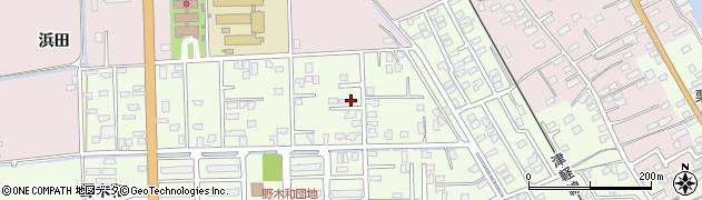 青森県青森市羽白(沢田)周辺の地図