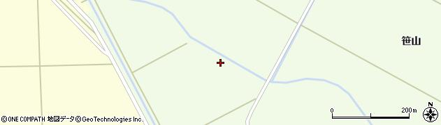 青森県つがる市稲垣町福富下派立周辺の地図