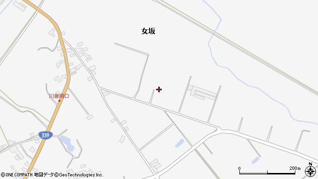 〒037-0201 青森県五所川原市金木町川倉の地図