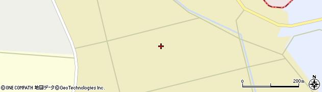 青森県つがる市下車力町大繋沼周辺の地図