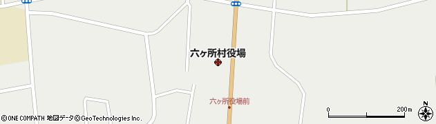 青森県六ヶ所村(上北郡)周辺の地図