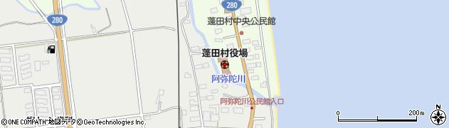 青森県蓬田村(東津軽郡)周辺の地図
