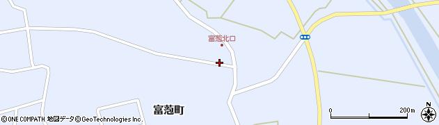 青森県つがる市富萢町去来見周辺の地図