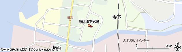 青森県上北郡横浜町周辺の地図